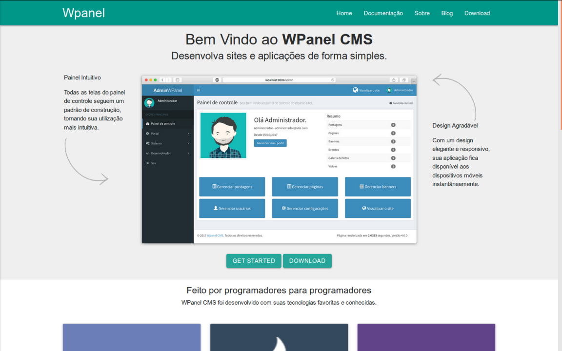 Wpanel oficial website